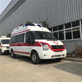 医院救护车价格 福特V348运输型120急救车 江铃特顺救护车价格