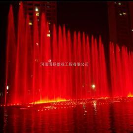 项城音乐喷泉设计安装,项城程控喷泉报价,河南博扬喷泉公司