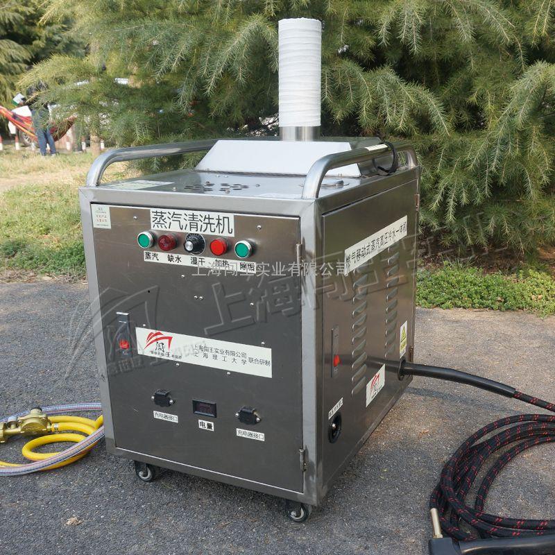 闯王厂家推荐创业热销上门燃气移动蒸汽洗车机