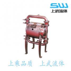 牛奶用气动隔膜泵 奶厂用气动隔膜泵 不锈钢食品级隔膜泵