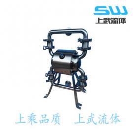 不锈钢食品级隔膜泵 金属卫生级隔膜泵 304卫生食品级过滤泵