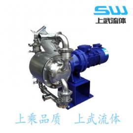 卫生食品级电动隔膜泵 卫生级电动隔膜泵 食品级电动泵