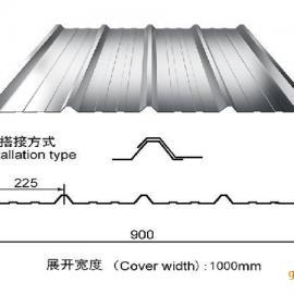 苏州�Z丰900型彩钢单瓦单层板批发