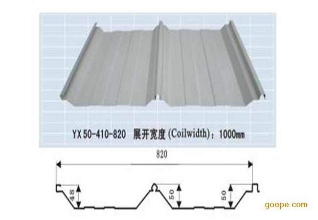 苏州�Z丰单层彩钢板830型角驰三单瓦