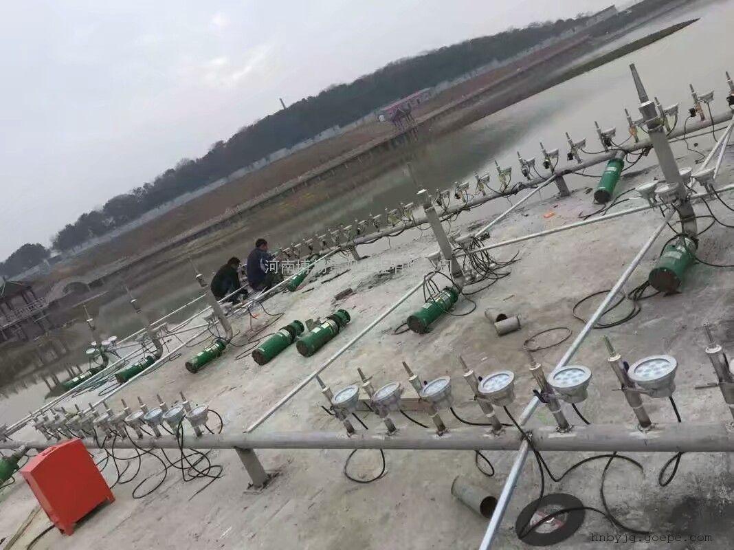 邓州音乐喷泉设计,邓州喷泉工程安装施工,河南博扬喷泉公司