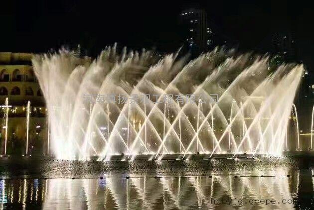 襄阳音乐喷泉设计,襄阳音乐喷泉安装施工,河南博扬喷泉公司