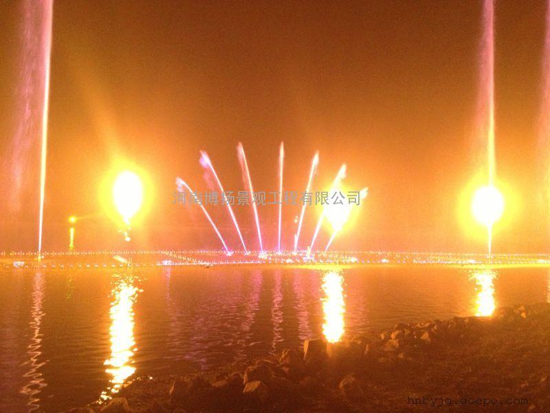 宜城市音乐喷泉设计,宜城喷泉安装施工,河南博扬水景喷泉公司
