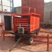 剪叉卸货提升机 8m*500kg*120方管液压平台多少钱 郑州昆明