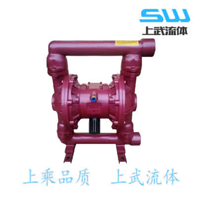 QBK-10 QBK-15 铸铁气动隔膜泵 气动铸铁隔膜泵