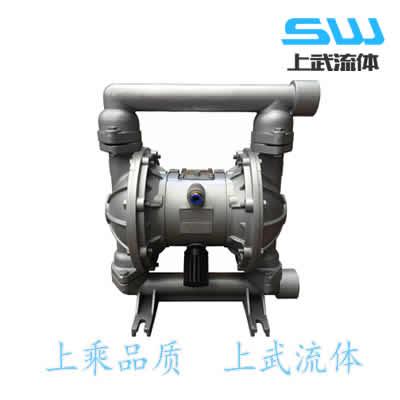 QBK-20 QBK-25 铝合金气动隔膜泵 铝制气动隔膜泵