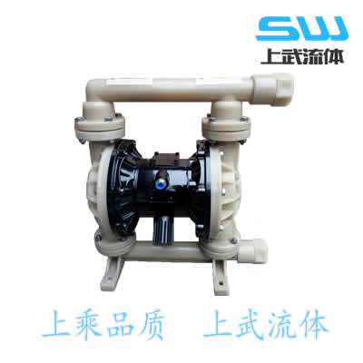 氟塑料气动隔膜泵 气动氟塑料隔膜泵 PVDF气动隔膜泵