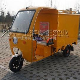 闯王柴油版三轮车移动上门蒸汽清洗机好用吗