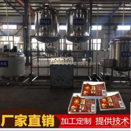 血豆腐加工生产线,全套鸭血豆腐生产线