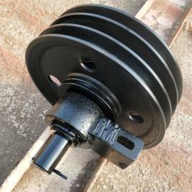 抓斗滑轮组 单梁起重机滑轮检修 导向双滑轮组 吊钩动滑轮