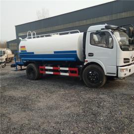 东风福瑞卡8立方洒水车清洁运水专用车