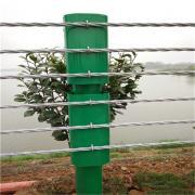 喷塑缆索护栏厂家@河北缆瑞GC-A-7E护栏价格@批量生产