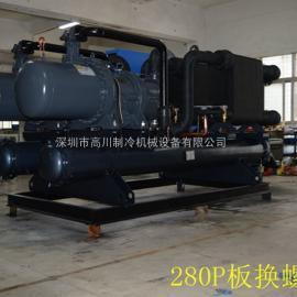 120-200HP水冷螺杆式冷水机组(单机头)