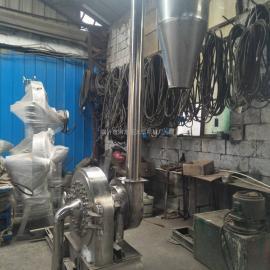 不锈钢粉碎机带螺旋输送机上料方便
