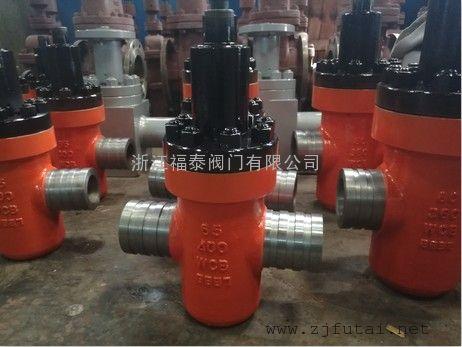 高压沟槽平板闸阀GYZF93Y-160-DN65