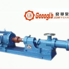永嘉良邦I-1B型不锈钢浓浆泵