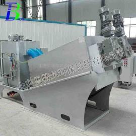 供应小型汽车污泥处理设备 贝特尔叠螺污泥脱水机