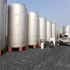 二手防腐不锈钢液体储存罐现货处理