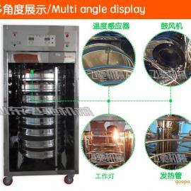 菏泽旋转式烤箱 茶叶烘干机 不锈钢烘焙箱厂家低价批发
