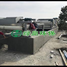 建筑泥浆带式压滤机
