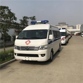 福田G9长轴运输型120救护车多少钱