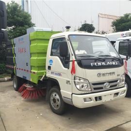 福田小卡小型扫路车多少钱一辆