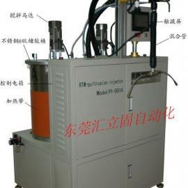 进口齿轮泵式AB胶自动混合,连续、定量供胶混胶机、静态灌胶机