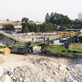 鼎盛AF系列移动破碎站践行绿色发展理念