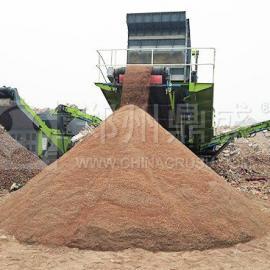 鼎盛移动破碎站应用于建筑垃圾资源化利用项目