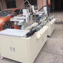 东莞专业过载保护器/温度保险丝自动点松香,自动点AB胶生产线