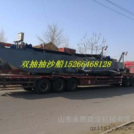 江西200立方抽沙船抽沙送铁路使用