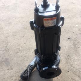 WQ修饰排污泵 无堵塞修饰泵 白口铁修饰泵