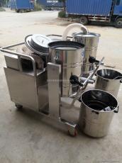 单配防爆不锈钢集尘器、防爆集尘机、移动式高压集尘机