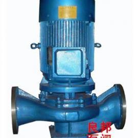 永嘉良邦ISG型立式单级管道泵