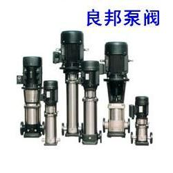 永嘉良邦CDLF型立式不锈钢多级管道泵