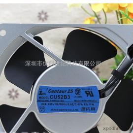 原装伺服SERVO CU52B3 12025 12cm 200v 13/11W交流静音散热风扇