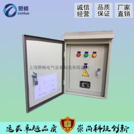 厂家直销直接启动一控一室外防雨水泵控制箱3kw