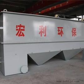 可定做的斜管沉淀器 协管沉淀池质量可靠 宏利高效斜管沉淀器