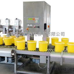 10L-50L小桶直列定重式全自动灌装线