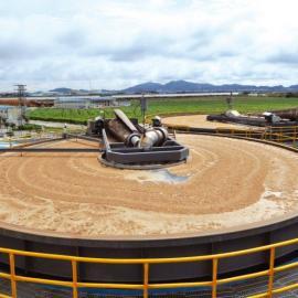 新型高效浅层气浮机 造纸厂废水处理