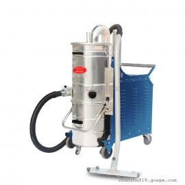 3000W德克威诺强力工业用大型吸尘器家具厂打磨车间用吸粉尘