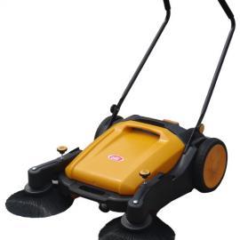 威德尔手推式无动力双刷扫地机_物业小区打扫卫生用WX-920