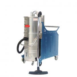 德克威诺强力工业吸尘器5500W机械厂吸铁屑焊渣颗粒用吸尘器