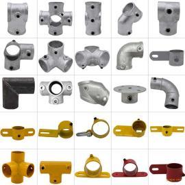 标准48管防护栏连接件-定型化建筑工地临时防护栏杆连接件