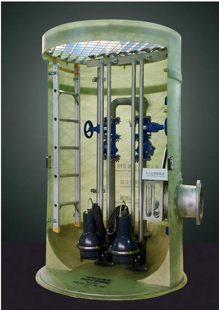 玻璃钢一体化预制泵站生产厂家