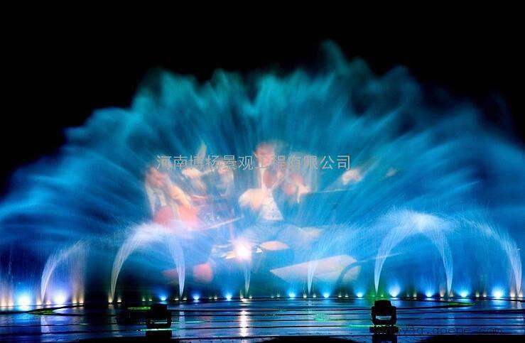 园林景观与园林小品 喷泉 河南博扬景观工程有限公司 产品展示 水幕